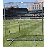 Trigon Sports Procage Premium Softball Pitcher Protective Screen with Net, 7 x 7-Feet