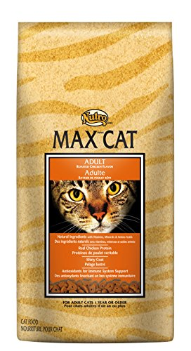 Nutro MAX CAT Adult Dry Cat Food, Roasted Chicken, 3 lbs.