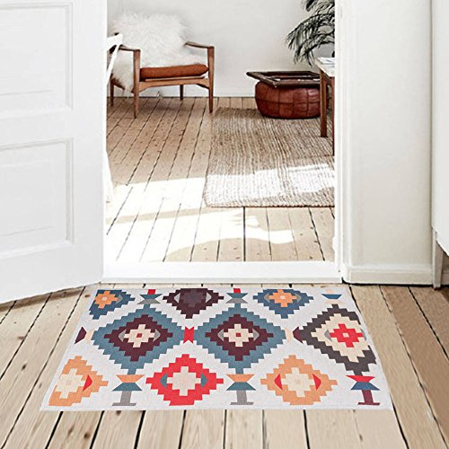 colorful kitchen rug - 9