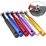 Crestgolf Golf Club Groove Sharpener Tool with 6 Cutters