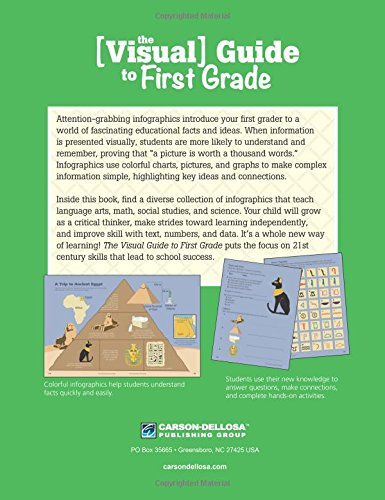Counting Number worksheets johnny appleseed worksheets for 2nd grade : The Visual Guide to First Grade: Thinking Kids, Carson-Dellosa ...