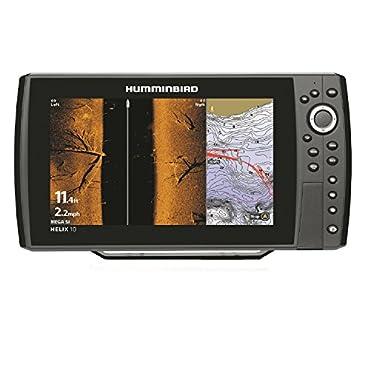 Hummingbird Helix 10 CHIRP SI MEGA GPS G2N Fishfinder 410120-1