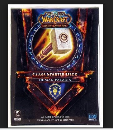 G WoW Trading Card Game 2011 Class Starter Deck Alliance Human Paladin ()