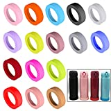 16 Pcs 65mm Protective Cup Mat Silicone Sleeve