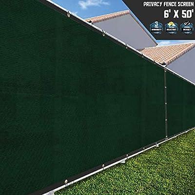 Sunshades Depot Valla Protector de Negro y Verde y marrón y marrón: Amazon.es: Jardín