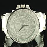 White Brilliant Jojino Ice Master King Bling Silicon Bullet Style Men Swag Watch
