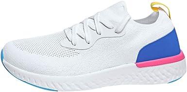 Zapatillas Deportivas De Mujer De Malla Transpirable Zapatillas De Running Gimnasia Ligero Sneakers Zapatos Para Correr Gimnasio Calzado Para Mujer Hombre Modelos De Pareja Wyxhkj: Amazon.es: Ropa y accesorios