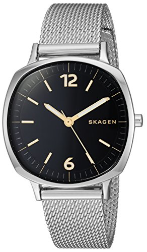 Skagen Women's Rungsted Quartz Watch with Stainless-Steel Strap, Silver, 14 (Model: SKW2628