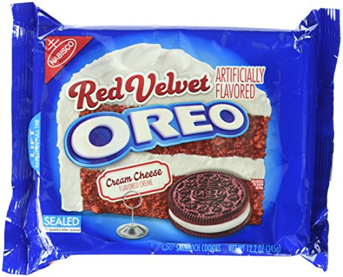 Oreo Red Velvet Sandwich Cookie, 12.2 Ounce (Pack of 2)