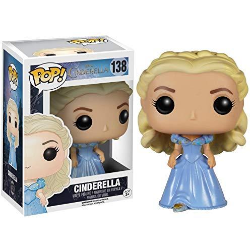 Funko Cinderella [Live Action]: Cinderella x POP! Disney Vinyl Figure & 1 POP! Compatible PET Plastic Graphical Protector Bundle [#138 / 05193 - B]