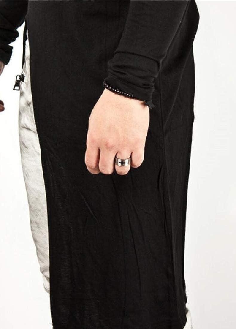HANA+DORA Men/'s Tee Classic O Neck Lightweight Pullover Shirt Blouses Top