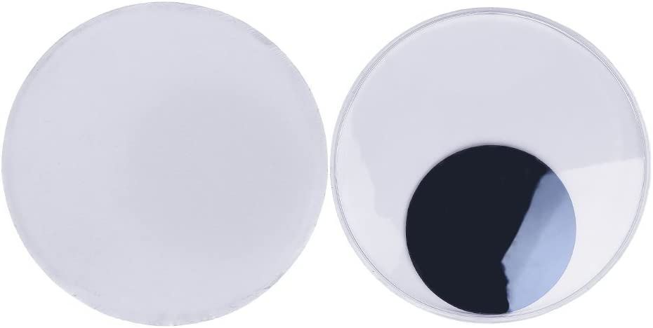 DECORA 3 Halloween Wiggle Googly Eyes with Self Adhesive Set of 8