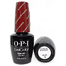OPI GelColor Soak-Off Gel Lacquer 0.5oz/15ml - STARLIGHT Holiday 2015 Collection (OPI HPG33 - Ro-Man-ce on the Moon)