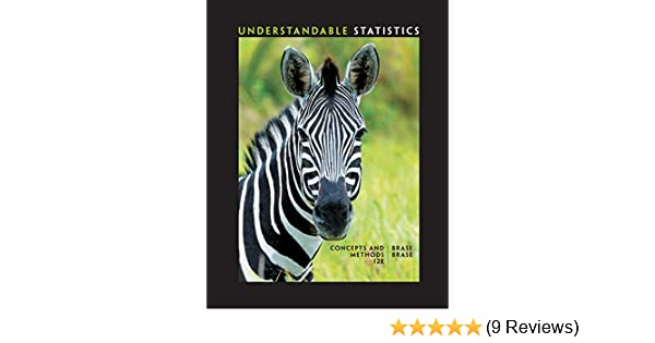 Understandable Statistics Concepts And Methods 012 Charles