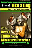 Miniature Pinscher, Miniature Pinscher Training AAA AKC | Think Like a Dog ~ But Don't Eat Your Poop! | Miniature Pinscher Breed Expert Training |: ... to TRAIN Your Miniature Pinscher (Volume 1)