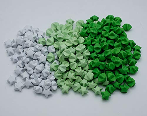 Amazon 1000 Origami Lucky Stars Green Tone Jar Gift Wedding