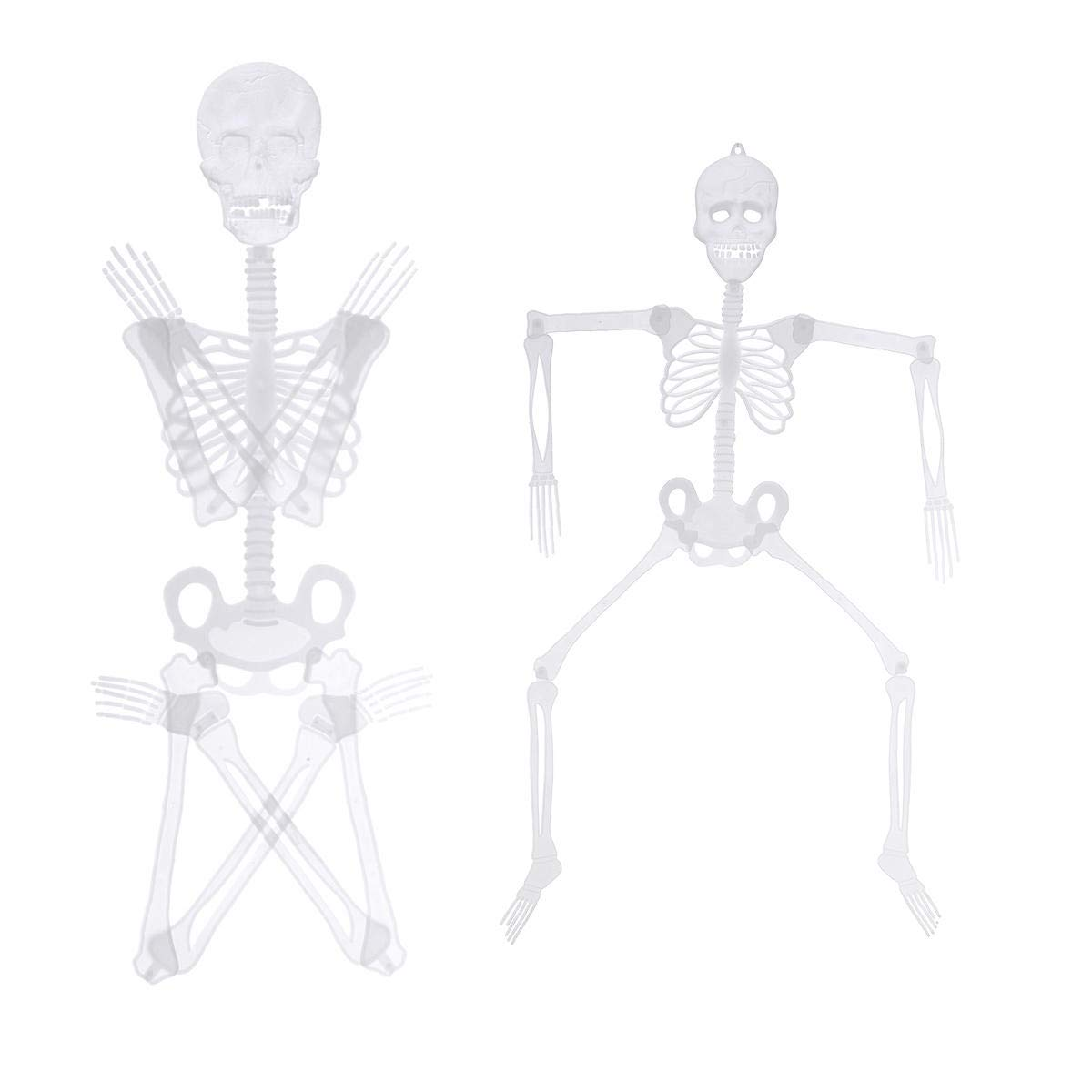 Halloween Luminou Human Skeleton Decoration Classroom Occasionally Adjustable - 1PCs by Unknown (Image #5)