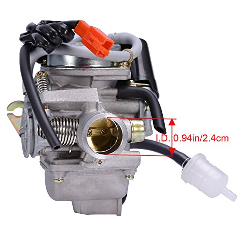 Active Carburetor Carb Gy6 125cc 150cc Scooter Moped 152qmi 157qmj Atv Gokart Roketa Taotao Sunl Chinese Pd24j Atv Parts & Accessories
