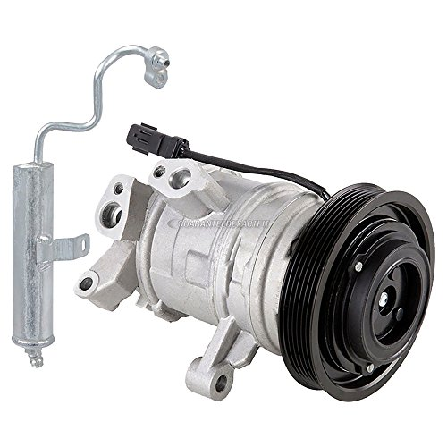 For Hyundai Genesis Coupe 2010 2011 2012 AC Compressor w//A//C Drier BuyAutoParts 60-88785R2 New