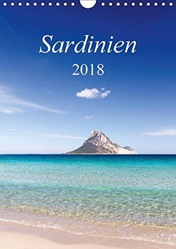 Sardinien (Wandkalender 2018 DIN A4 hoch): Europas Perle (Monatskalender, 14 Seiten ) (CALVENDO Natur) [Kalender] [Apr 01, 2017] Kuehn, Thomas