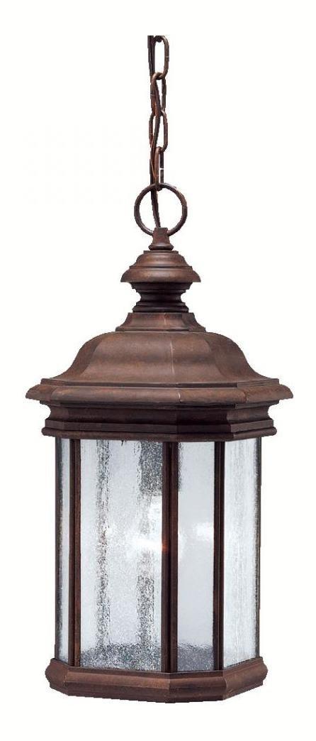One Light Tannery Bronze Hanging Lantern