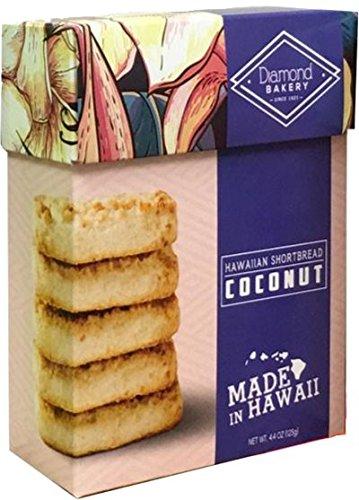 Cookies Hawaiian Shortbread - Diamond Bakery Coconut Hawaiian Macadamia Nut Shortbread Cookies