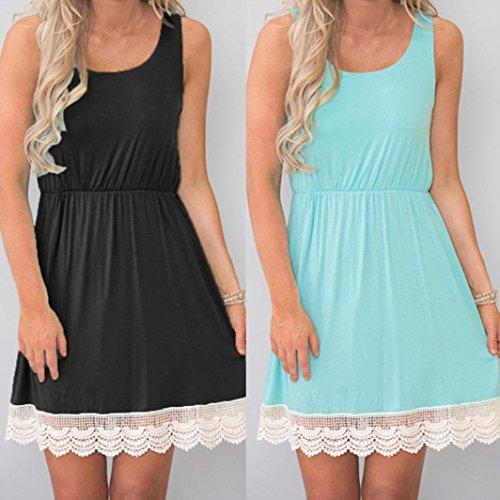 b8c3da0a16cd ... Sommerkleid Damen Partykleid High Waist Schulterfrei Damen Kleider  Sleeveless Beach Kleid Elegant Sleeveless Beach Kleid Elegant ...