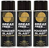 BreakFree GC-16 Powder Blast Gun Cleaner Aerosol (12-Ounce) (3-(Pack))