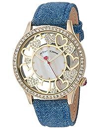 Betsey Johnson Women's BJ00331-09 Multi Heart Motif Dial Watch