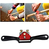 "Teanfa 1PCS Metal Woodworking Blade Spoke Shave Manual Planer Plane Deburring Hand Tools 9"" SAK"