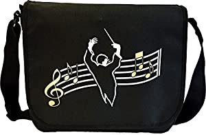 Conductor Curved Stave - Sheet Music Document Bag Musik Notentasche MusicaliTee