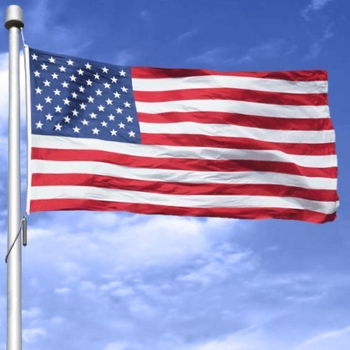 AMERICAN PRIDE Gift Set - Includes a 3' x 5' Polyester American Flag & 2