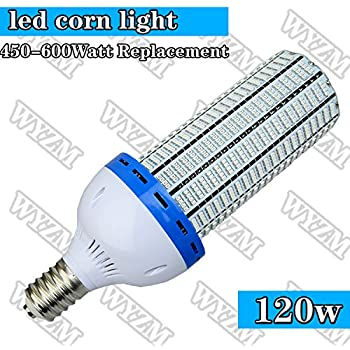 Wyzm 120watt Mogul Base Led Corn Light Bulb 500 600watt