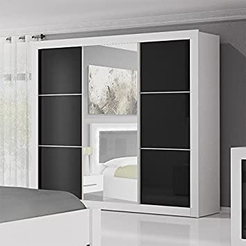Checo home and garden 2 day premium shipping available modern sliding door wardrobe 8 ft