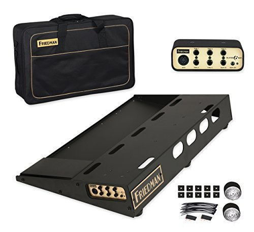Friedman Amplification Tour Pro 1525 Gold Pack 15 x 25 Pedal Board with Riser Professional Carrying Bag and Buffer Bay 6 [並行輸入品]   B07GTTYZS7