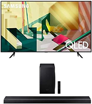 Alexa HDR 10+ Ambient Mode+ Samsung QLED 4K 2020 55Q70T Multi View Smart TV de 55 con Resoluci/ón 4K UHD One Remote Control y Asistentes de Voz Integrados Inteligencia Artificial 4K