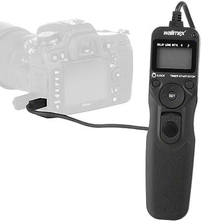 Walimex Digitaler Lcd Timer Fernauslöser Für Nikon N1 Kamera