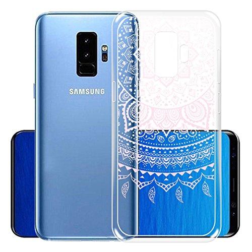 Cover para Samsung Galaxy S9 Plus ( No coincide Samsung Galaxy S9 ) , WenJie La mascota de Dios Verde Transparente Accesorios Regalo TPU Regalo elegante y duradero suave Silicona Suave Funda Case Tapa WM86