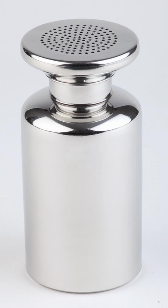APS Salt Shaker with Screw Lid/French Fries Shaker Stainless Steel Diameter 8cm Height 17cm 00772