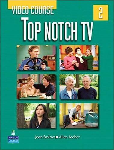 1cef572b14d Top Notch TV 2 Video Course: Joan Saslow, Allen Ascher ...