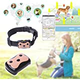 Yumian Mini Pet GPS Tracker & Activity Monitor, Phone Finder, Pet Dog Cat Kids Collar ID Locator Tracking Loss Prevention