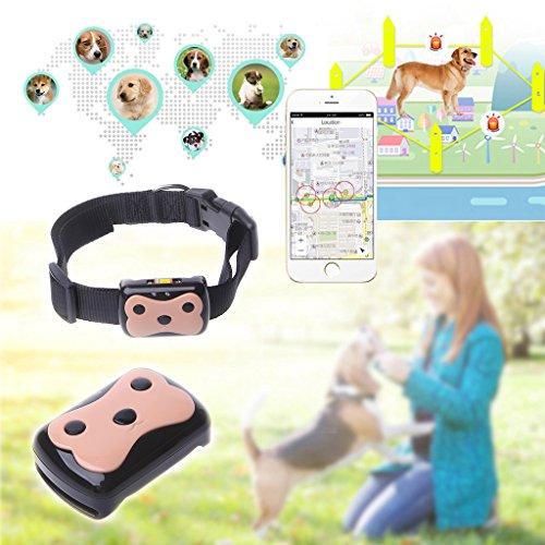 Advanced Gps Dog Locator (GPS Tracker ,NNDA CO Mini Pet GPS+LBS real-time tracking Pet Dog Cat Kids Collar ID Locator)
