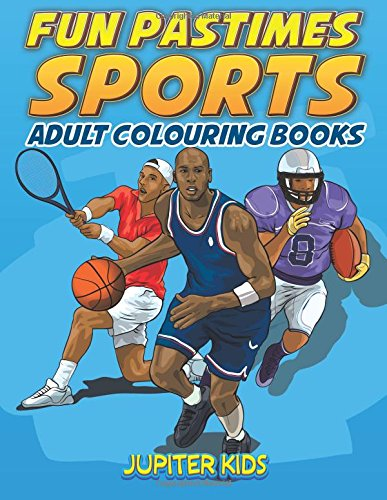 Fun Pastimes Sports Adult Colouring