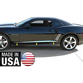 Fits Chevy Camaro Coupe 2010-2013 Stainless Polished Chrome Window Trim Package