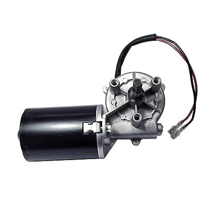 12V-30W DC Moteur /à engrenage /électrique 12 V 24 V 24 V avec transmission /à gauche pour remplacement de porte de garage 50rpm-L-LS