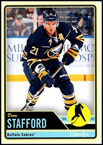 (2012-13 O-Pee-Chee Hockey #245 Drew Stafford Buffalo Sabres Official NHL Trading Card From Upper Deck)