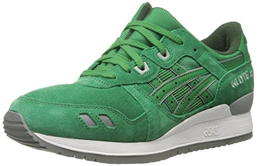 ASICS GEL-Lyte III Retro Running unisex-adult Shoe Green / Green quality from china cheap in China cheap online xNkURiEj