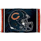 WinCraft Chicago Bears New Helmet Grommet Pole Flag