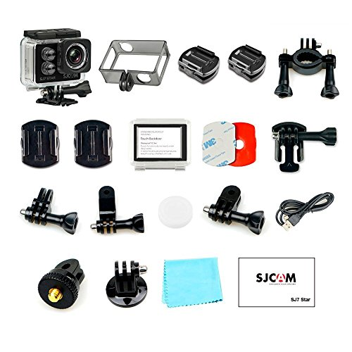 SJCAM SJ7 STAR 4K 12MP 2'' Touch Screen Metal Body Gyro Waterproof Sports Action Camera BLACK by SJCAM (Image #5)