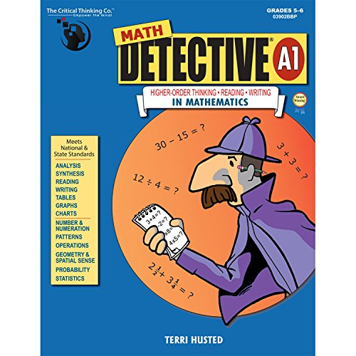 Critical Thinking Math Detective A1